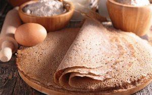 Гречневые блины с начинкой — рецепт на Масленицу