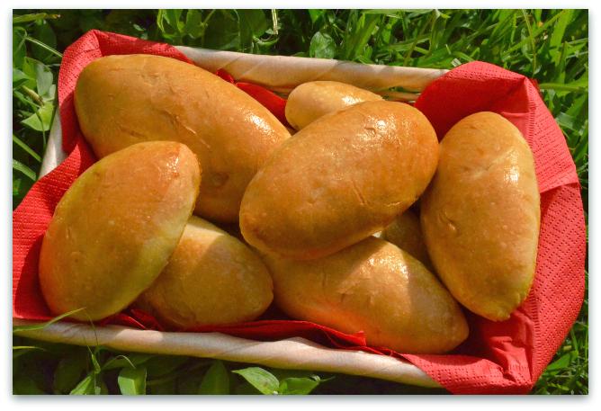 Постные пирожки с картофелем