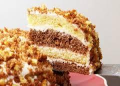 Торт » Нежный сметанник»