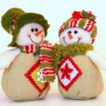 Булочки-снеговички