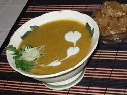 Суп-пюре с курагой по-армянски