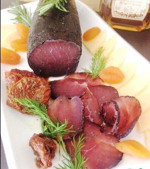 Брезаола-домашнее вяленое мясо