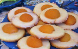 Печенье «Глазунья»