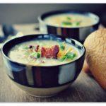 Картофельный белый суп по-чешски