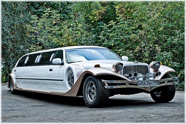 Роскошный транспорт на свадьбу