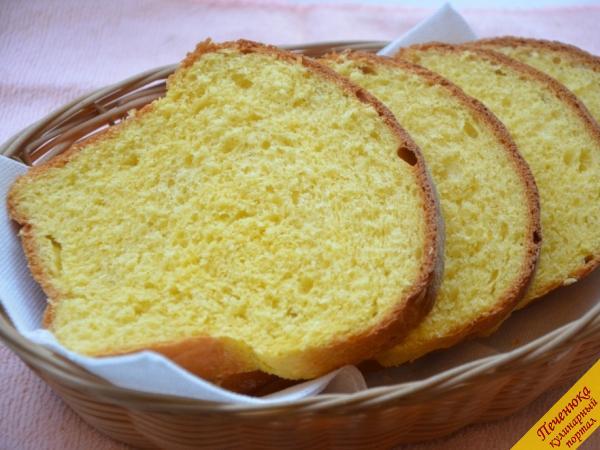 Золотистый тыквенный хлеб