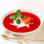 Суп земляничный