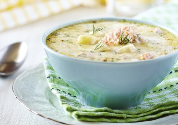 Быстрый суп по-карельски