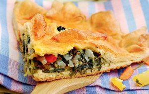 Пирог с огородной зеленью