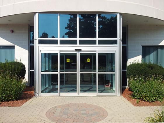 Ремонт автоматических дверей
