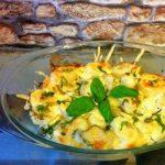 Картофель запеченный с базиликом