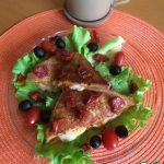 Итальянский завтрак с моцареллой