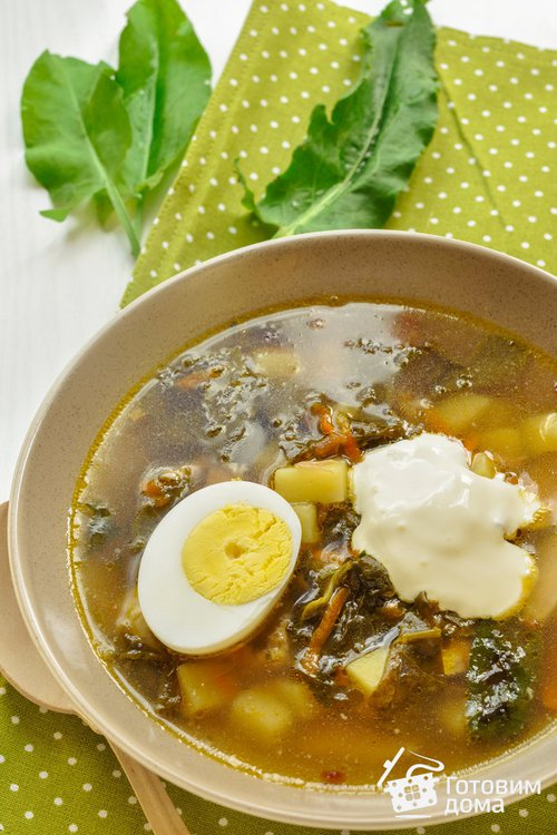 Щавелевый суп