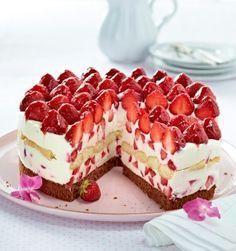 Торт «Малиновый вечер»
