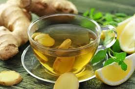 Горячий лимонный чай с имбирем и мятой «Франкфурт»