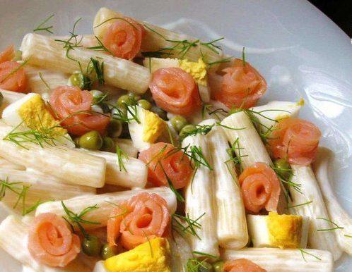 Салат из пасты «Романтические грёзы»