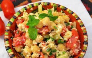 «Ламия» салат с кус кусом