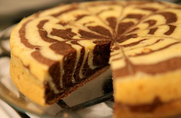 Торт Зебра | Кулинарный помощник