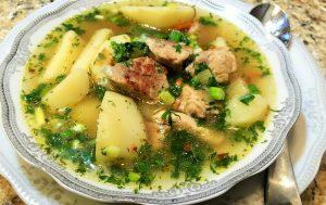 Жареный суп для мужчин