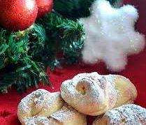 Печенье «Карамельные цветы под снегом»