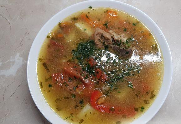 Суп шулюм по-домашнему