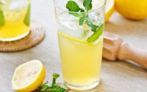 Домашний газированный лимонад