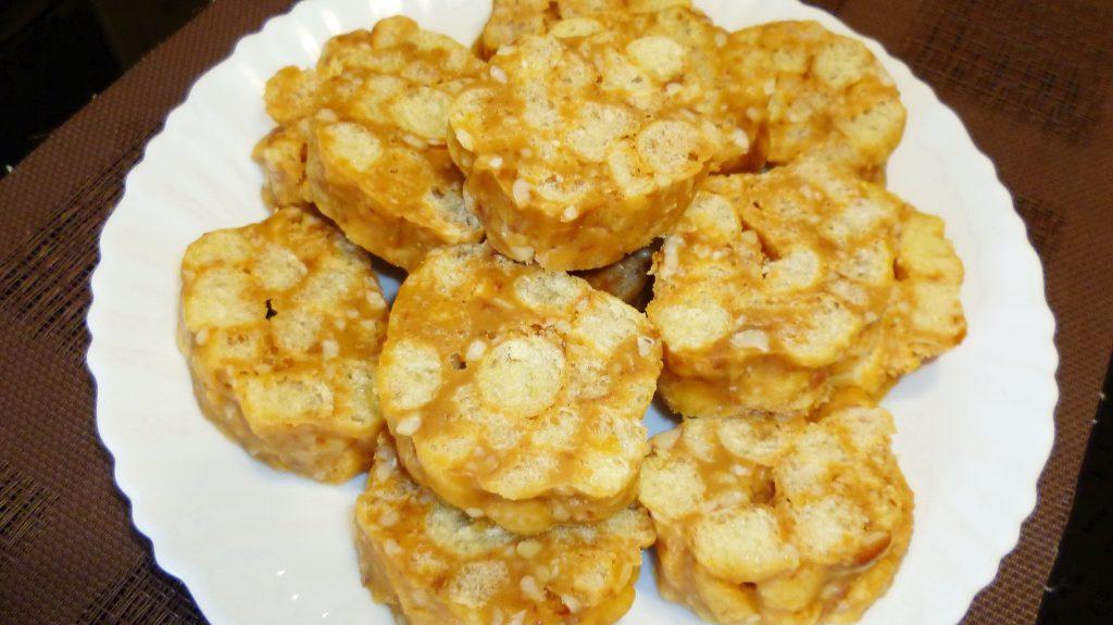 Легкий рецепт десерта из кукурузных палочек