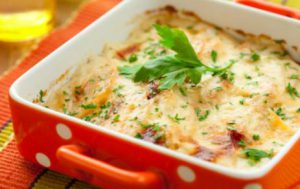 Картофельная запеканка по-итальянски