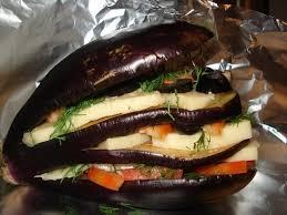 «Гамбургеры» из баклажанов