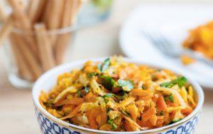 Салат из тыквы с сельдереем