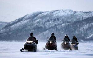 Туры на снегоходах на Кольском полуострове