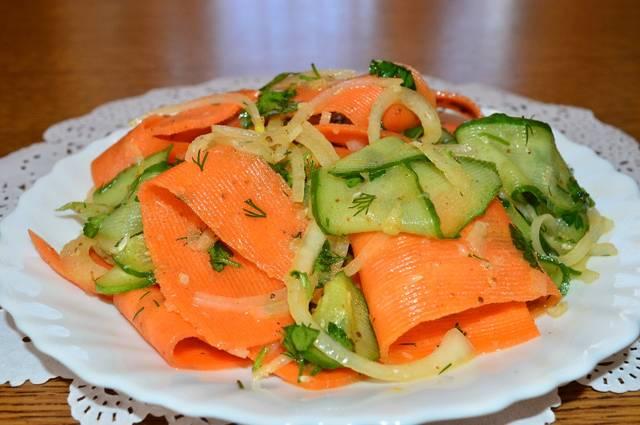 Салат «Витаминный» — хоть закуска, хоть гарнир