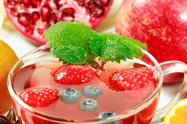 Кисель из свежих ягод