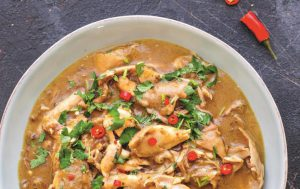 Рагу из курицы по-малайзийски
