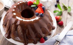 Ванильный кекс с шоколадной начинкой «Дженифер»