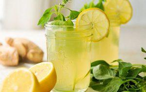 Нектар из дыни, с мёдом и лаймом
