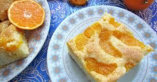 Шарлотка с яблоками и апельсином