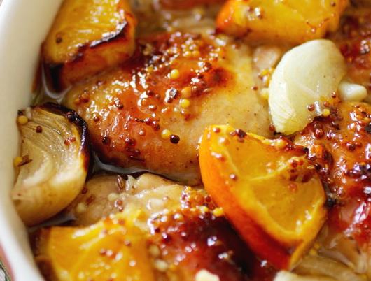 Рецепт блюда из куриной грудки и морковки с апельсиновым соусом