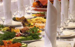 Как составить качественное свадебное меню