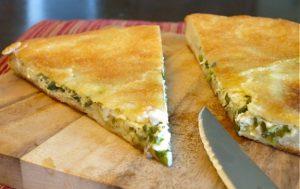 Пирог с осетинским сыром