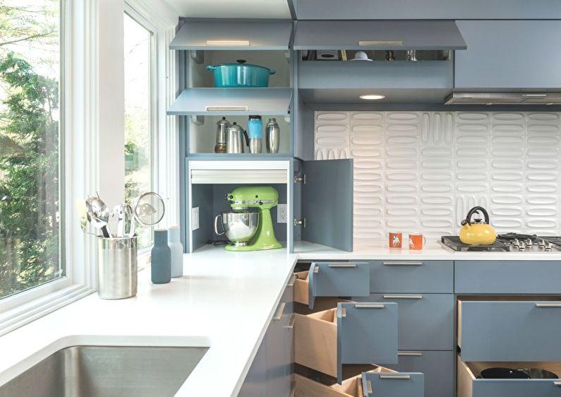 Маленькая кухня и особенности ее дизайна