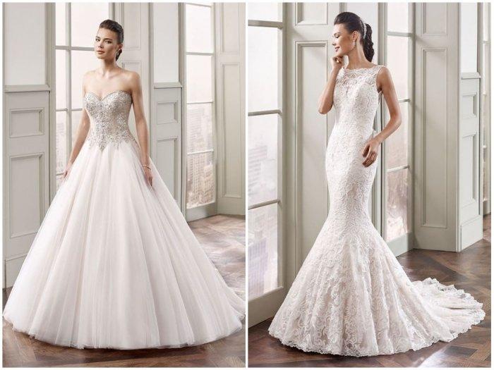 Свадебные платья 2018 — основные тенденции