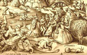 Тщеславие и лихоимство в списке смертных грехов
