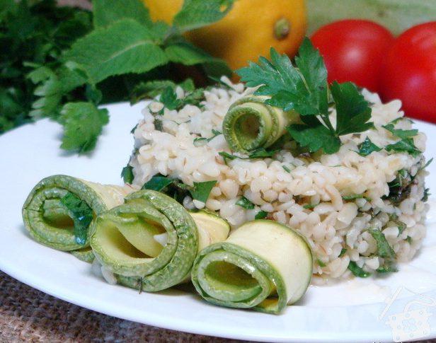 «Булгур по-весеннему» салат