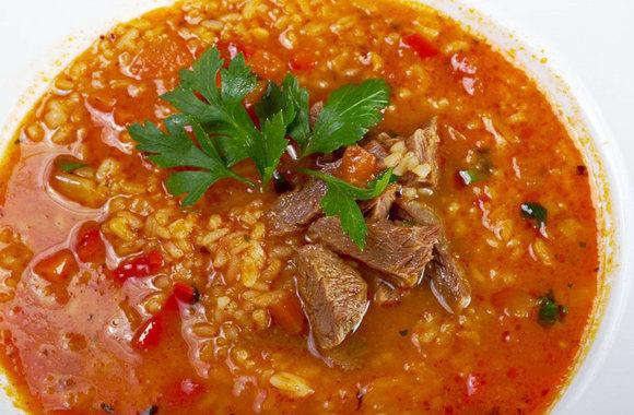 Грузинский рисовый суп «Не харчо»