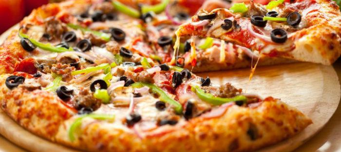 Вегетарианская пицца от «WoWPizza» в Днепре