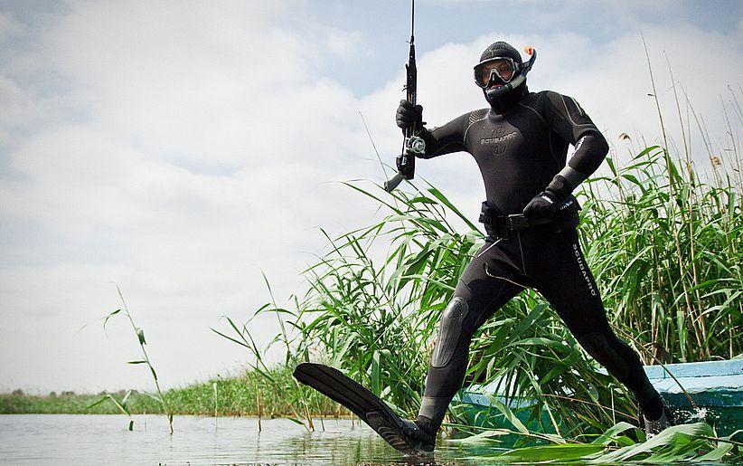 Какое снаряжение понадобится для подводной охоты?