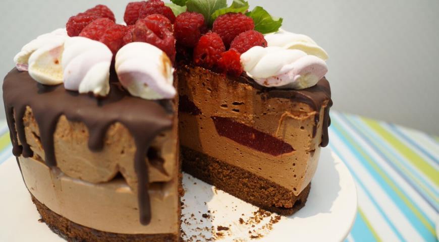 Рецепт шоколадный торт с суфле