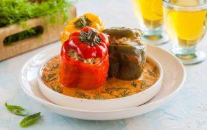 Фаршированные перцы: классический рецеп