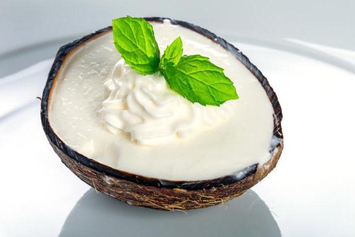 Органические продукты питания: несколько рецептов с кокосовыми сливками